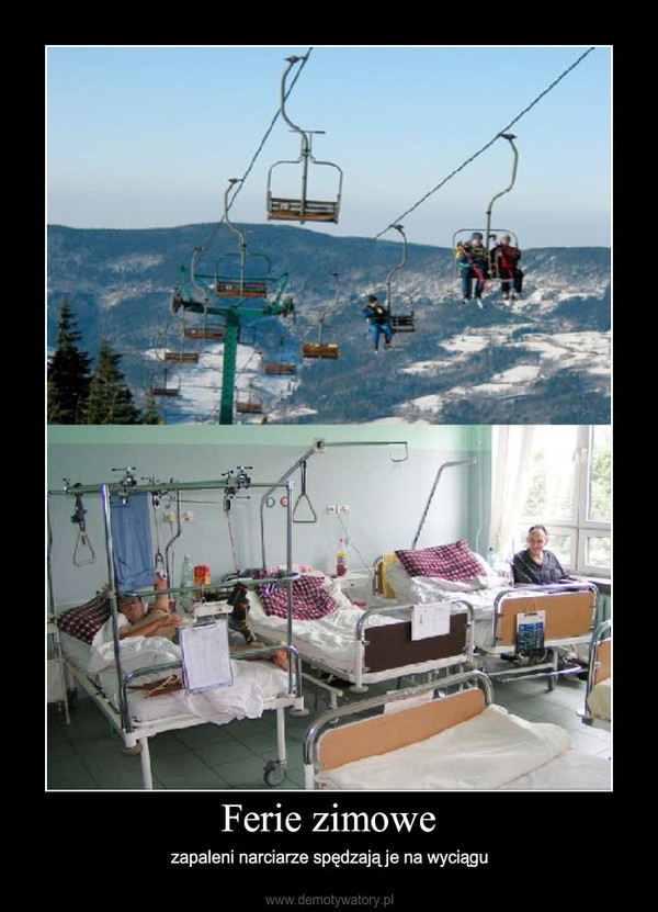 Ferie zimowe – zapaleni narciarze spędzają je na wyciągu