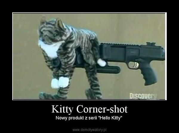 "Kitty Corner-shot – Nowy produkt z serii ""Hello Kitty"""