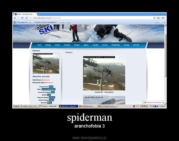 spiderman – aranchofobia 3
