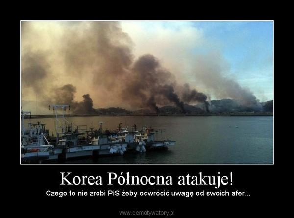 Korea Północna atakuje! –  Czego to nie zrobi PiS żeby odwrócić uwagę od swoich afer...