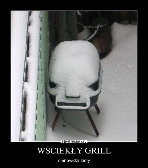 WŚCIEKŁY GRILL –  nienawidzi zimy