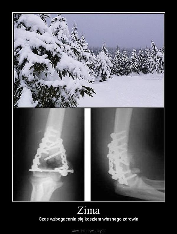 Zima – Czas wzbogacania się kosztem własnego zdrowia