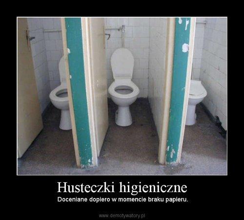 Husteczki higieniczne