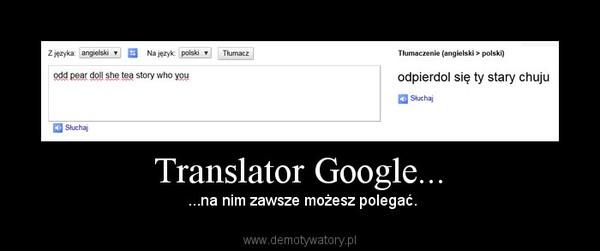 Translator Google...