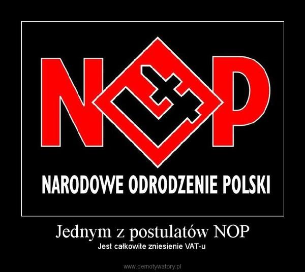 Jednym z postulatów NOP – Demo...