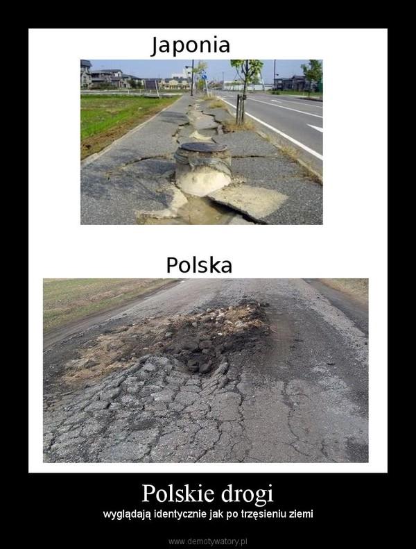 Polskie drogi – wyglądają identycznie jak po trzęsieniu ziemi