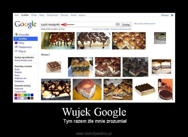 Wujek Google – Tym razem źle mnie zrozumiał