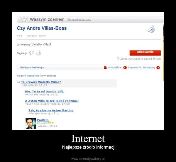 Internet – Najlepsze źródło informacji