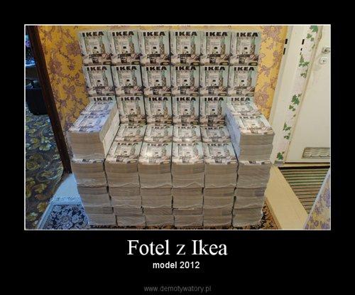 Fotel z Ikea