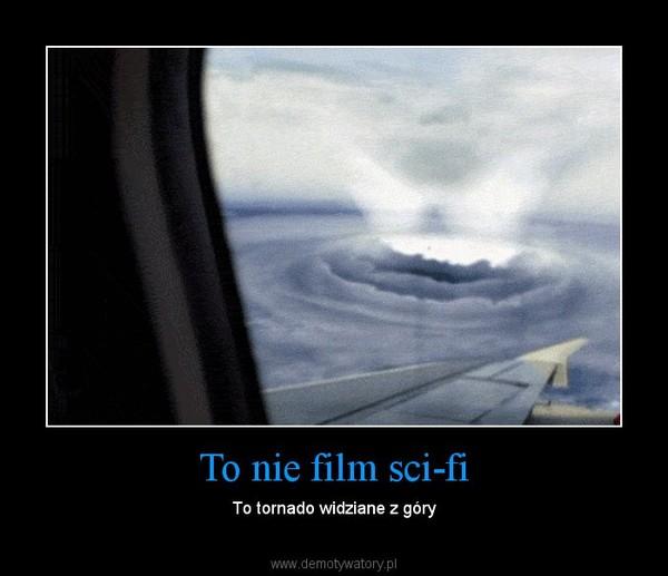 To nie film sci-fi – To tornado widziane z góry