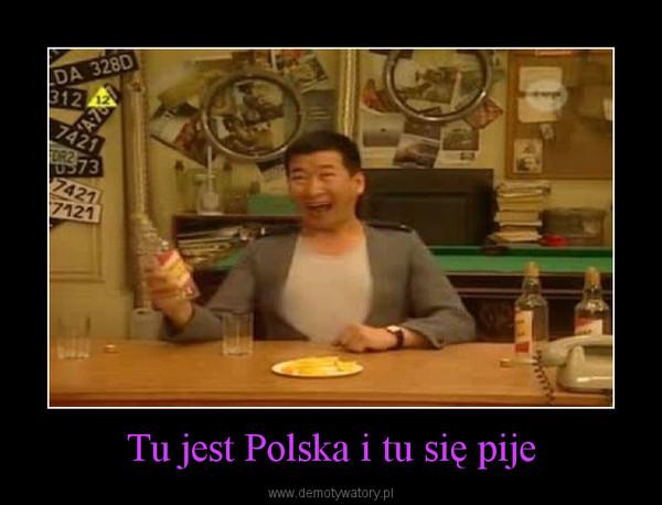 Tu jest Polska i tu się pije –