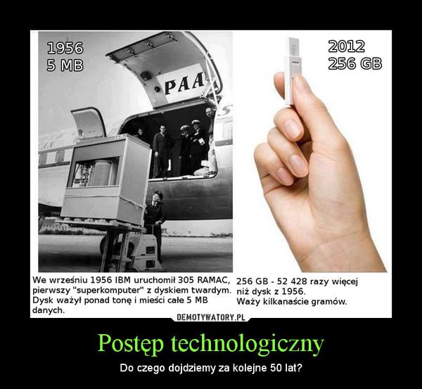 Postęp technologiczny – Do czego dojdziemy za kolejne 50 lat?