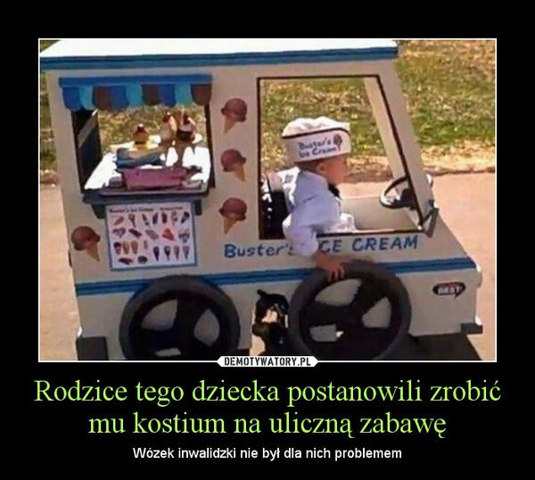 Rodzice tego dziecka postanowili zrobić mu kostium na uliczną zabawę – Wózek inwalidzki nie był dla nich problemem
