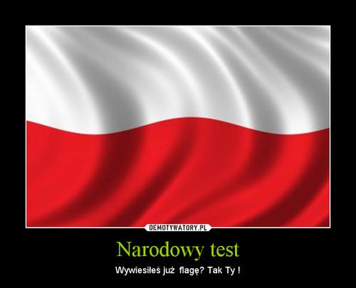 Narodowy test