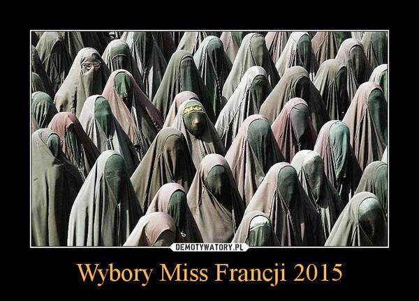 Wybory Miss Francji 2015 –