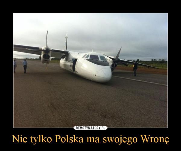 Nie tylko Polska ma swojego Wronę –