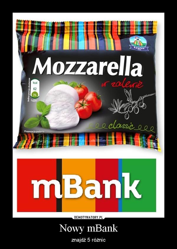 Nowy mBank – znajdź 5 różnic