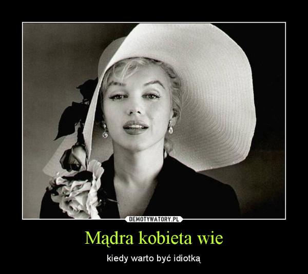 Madra kobieta