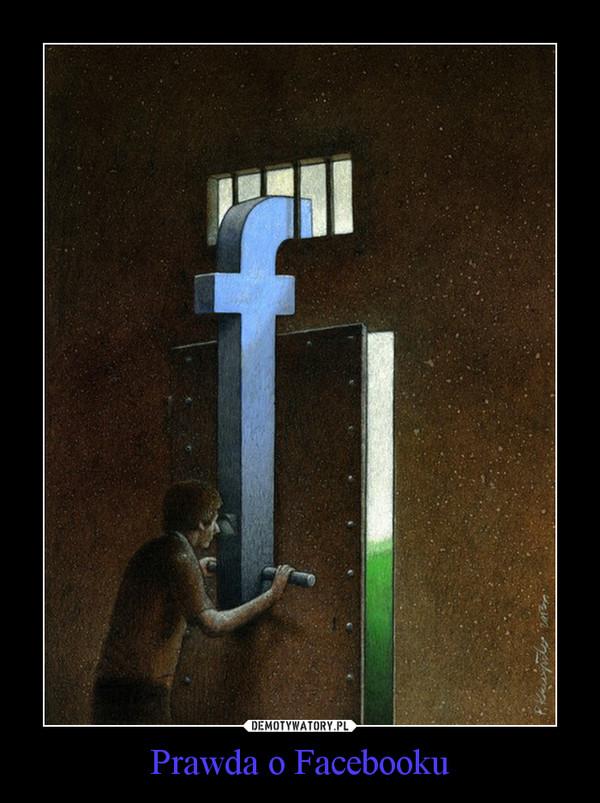 Prawda o Facebooku –