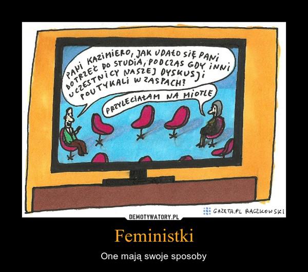 Feministki – One mają swoje sposoby
