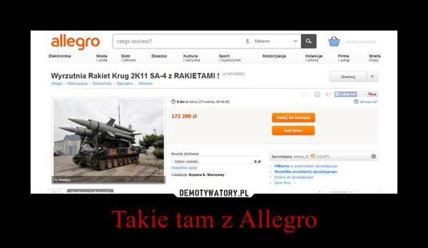 Takie tam z Allegro –
