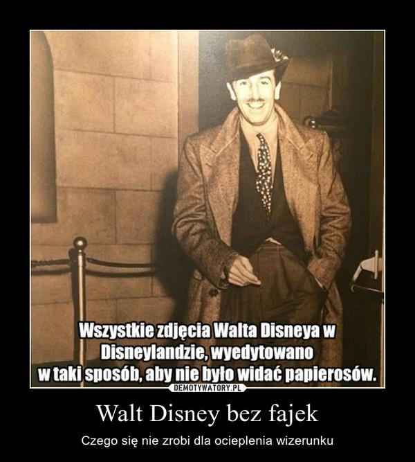 Walt Disney bez fajek – Czego się nie zrobi dla ocieplenia wizerunku