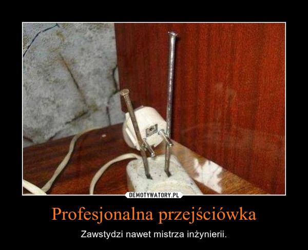 Profesjonalna przejściówka – Zawstydzi nawet mistrza inżynierii.