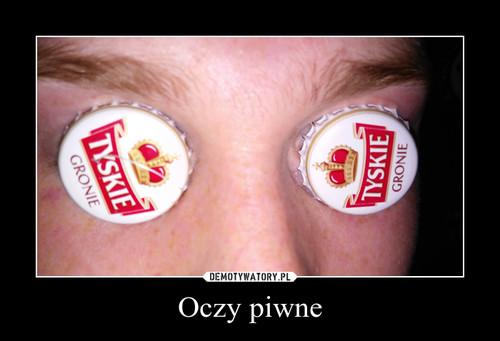 Oczy piwne
