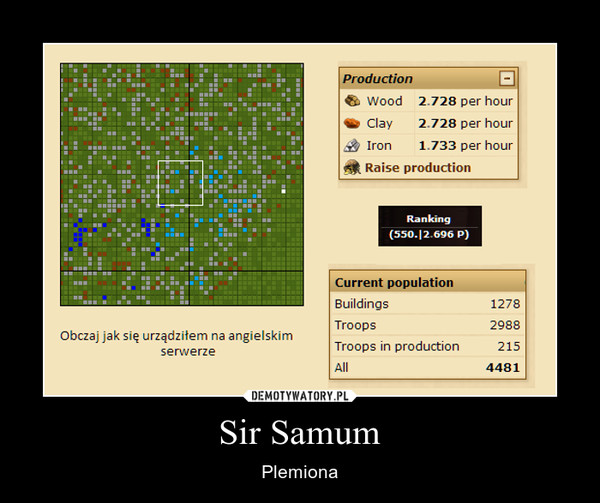 Sir Samum – Plemiona