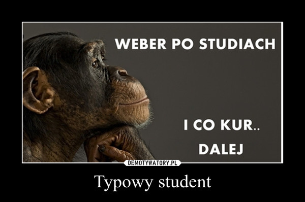 Typowy student –