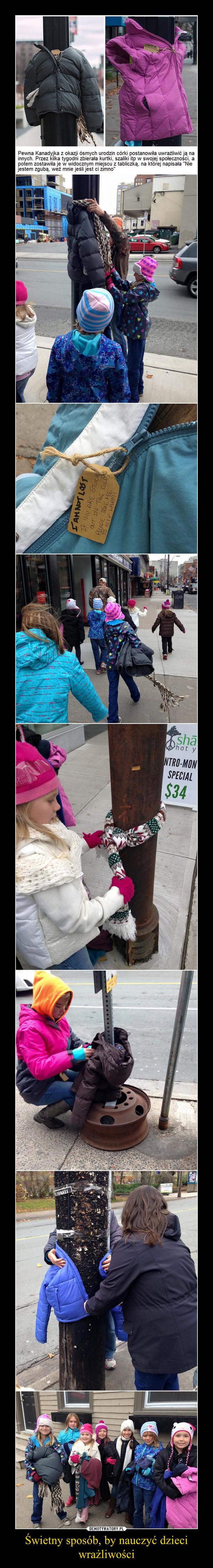 Świetny sposób, by nauczyć dzieci wrażliwości –