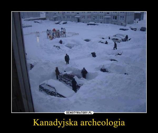 Kanadyjska archeologia –