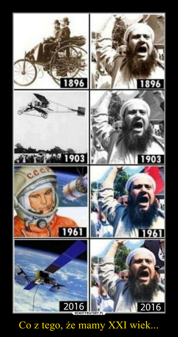 Co z tego, że mamy XXI wiek... –