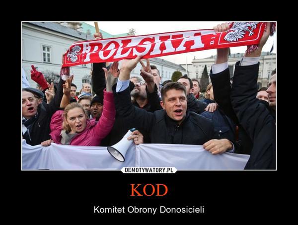 KOD – Komitet Obrony Donosicieli