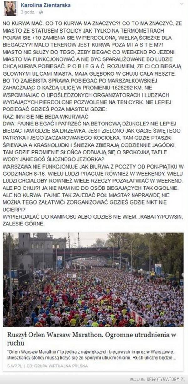 O biegaczach.... –