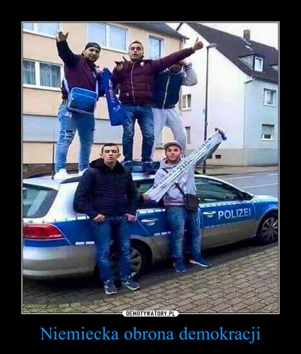 Niemiecka obrona demokracji –