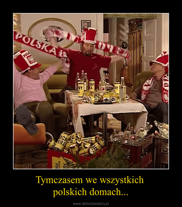 Tymczasem we wszystkich polskich domach... –