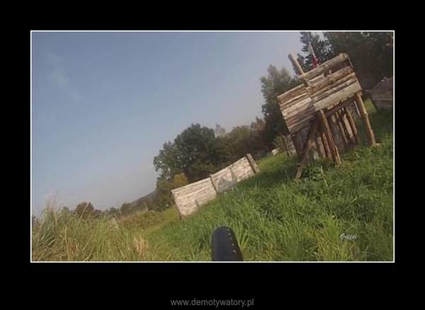 Paintball - nagranie dron + GoPro –