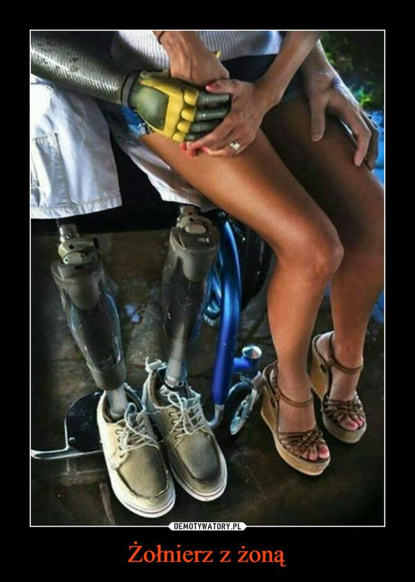 Żołnierz z żoną –