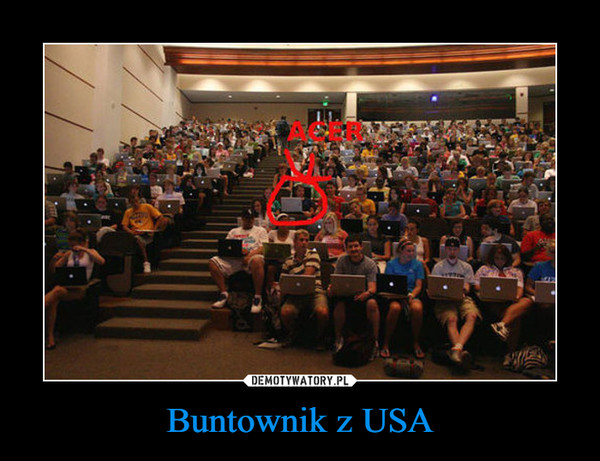 Buntownik z USA –
