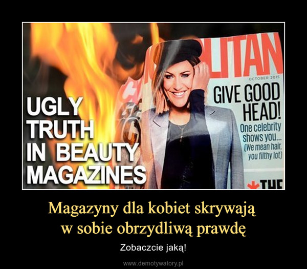 Magazyny dla kobiet skrywają w sobie obrzydliwą prawdę – Zobaczcie jaką!