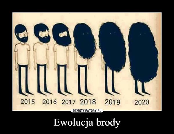 Ewolucja brody –