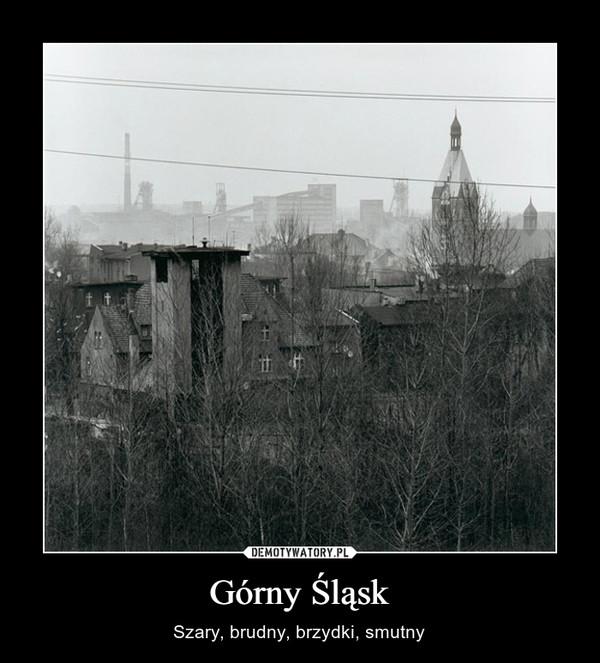 Górny Śląsk – Szary, brudny, brzydki, smutny