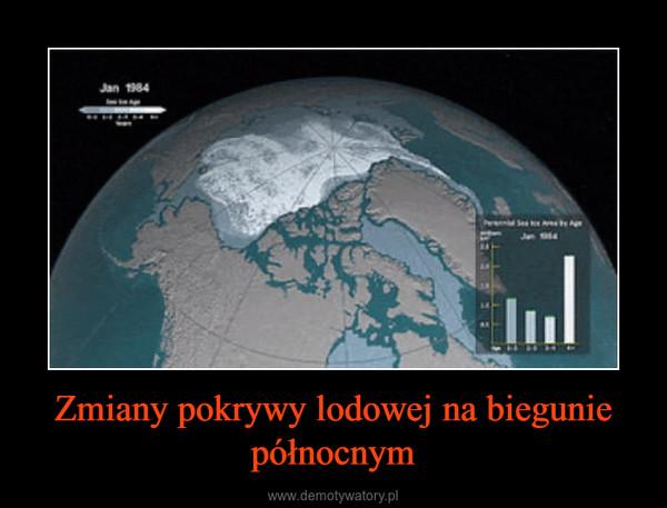 Zmiany pokrywy lodowej na biegunie północnym –