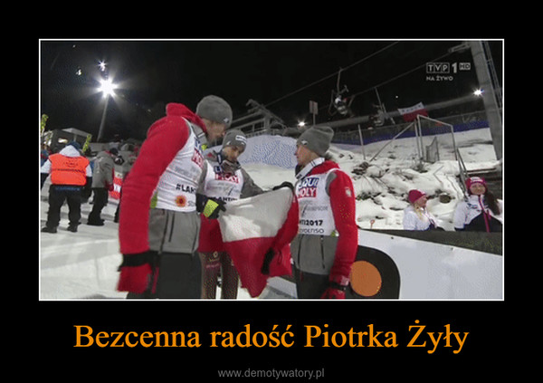 Bezcenna radość Piotrka Żyły –