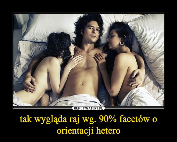 tak wygląda raj wg. 90% facetów o orientacji hetero –