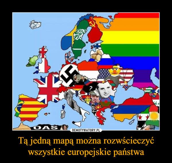 Tą jedną mapą można rozwścieczyć wszystkie europejskie państwa –