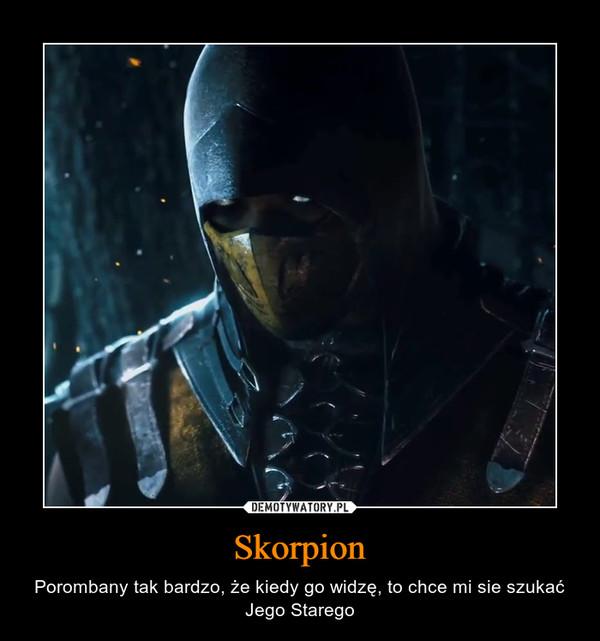 Skorpion – Porombany tak bardzo, że kiedy go widzę, to chce mi sie szukać Jego Starego