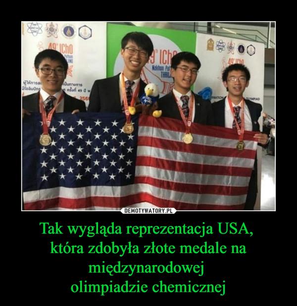 Tak wygląda reprezentacja USA, która zdobyła złote medale na międzynarodowej olimpiadzie chemicznej –
