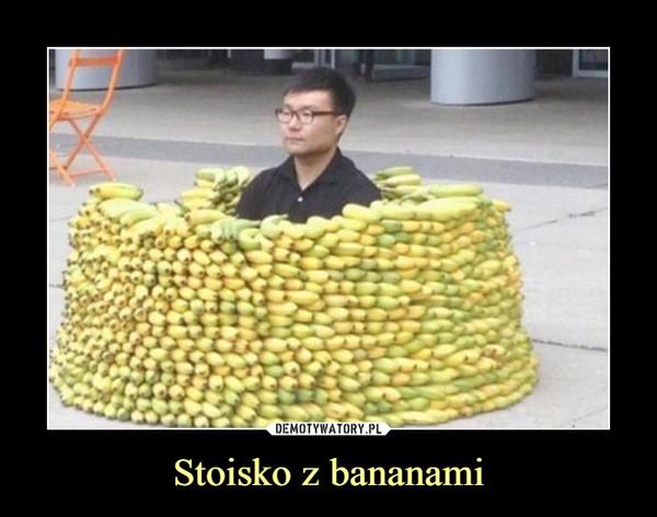 Stoisko z bananami –